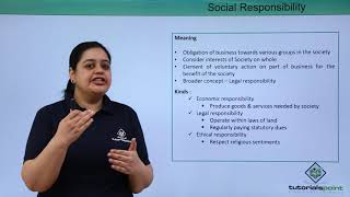 Social Responsibility And Business Ethics - Introduction