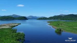 Loch Lomond Aerial Video