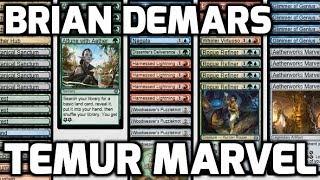Channel DeMars - Standard Temur Marvel (Deck Tech & Match 1)