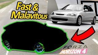 Affari a 4 Ruote: CIVIC Fast & Malavitous - Forza Horizon 4
