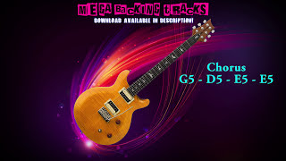 Modern Rock/Metal Guitar Backing Track (Em) | 116 bpm