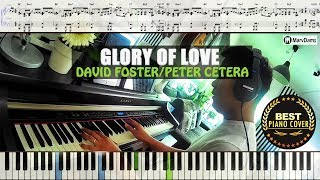 Glory Of Love - Peter Cetera / Piano Cover Instrumental Tutorial Guide
