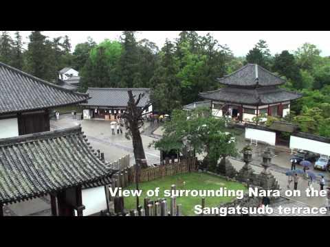 Nara Japan with visits to Nara Park, Todaiji Temple, and Kasuga Taisha shrine