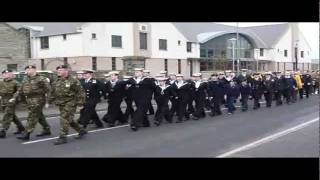 Kirkwall Remembrance Parade 2011