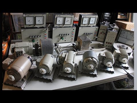 The Electric Motor Test Stand / Dyno - Test Runs and Motor-Experiments