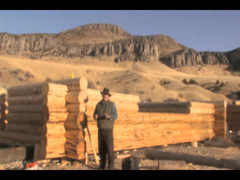 Montana School of Log Building: Learning how-to build a Handcrafted Log Home