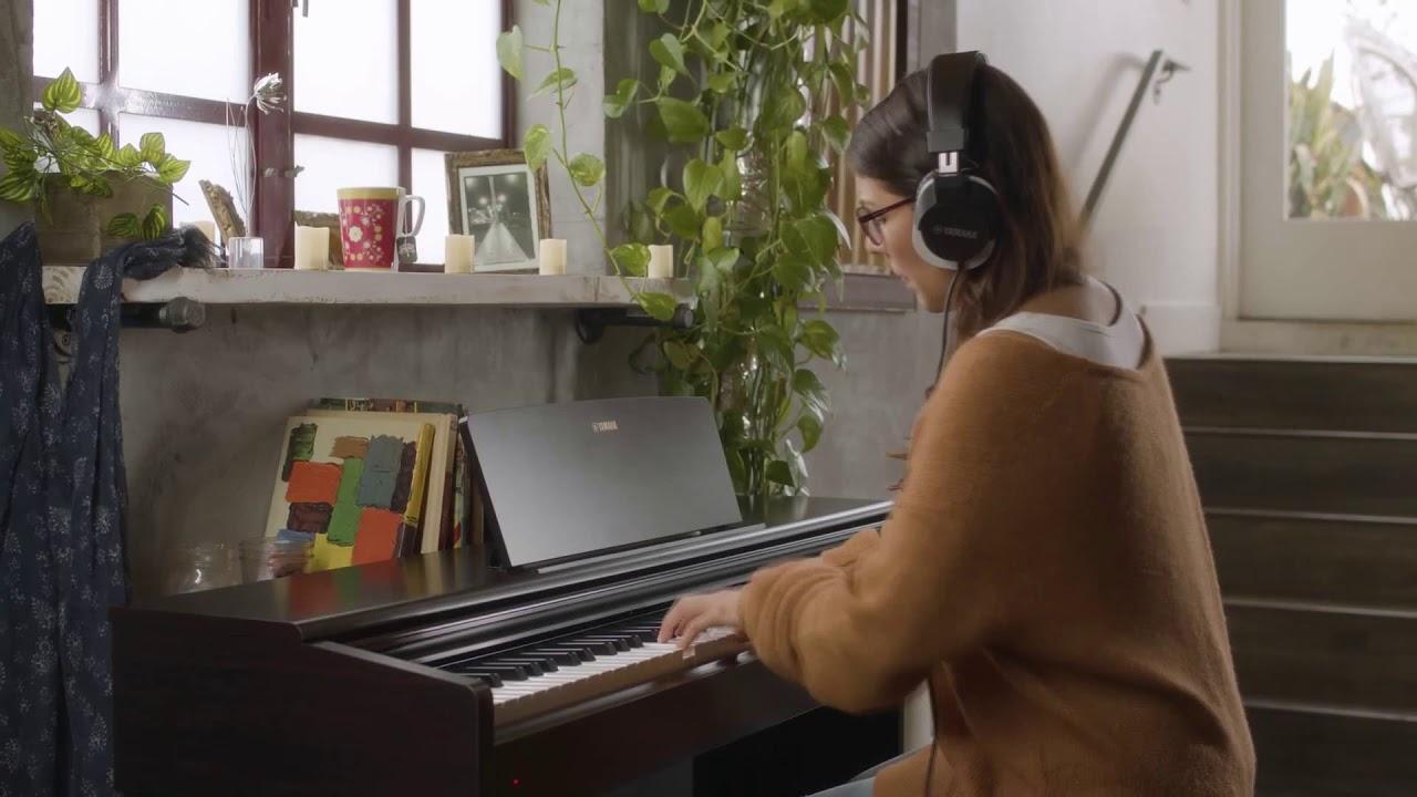 Yamaha YDP-144 краткий обзор цифрового пианино - YouTube