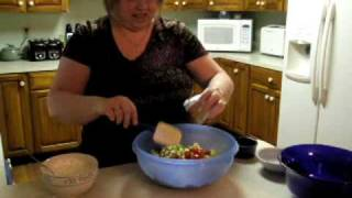 Kreamy Kucumber Pasta Salad Recipe - A Pam's Pantry Gourmet Dip Mix Original