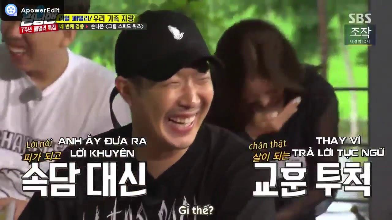 [Running man] – Đôi bạn thân Geun Sik và HaHa tấu hài cực mạnh