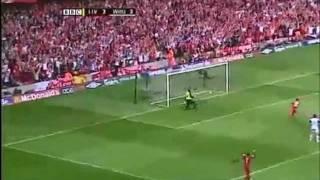 [HD] Steven Gerrard Goal vs West Ham United FA Cup Final 2006 90th Minute