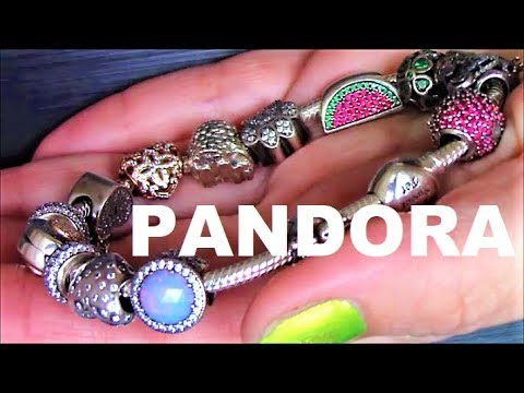 MY PANDORA CHARM BRACELET AND CHARMS COLLECTION