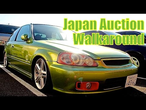 Japan Auction Walk Through - USS Yokohama - Pacific Coast Auto