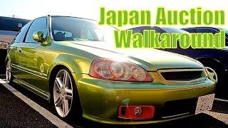 Japan Auction Walk Through - USS Yokohama - Pacific Coast Auto