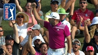 sergio garcia aces the island green at the players