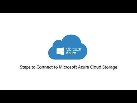 Connect to Microsoft Azure Blob Storage and Files - FileZilla Pro