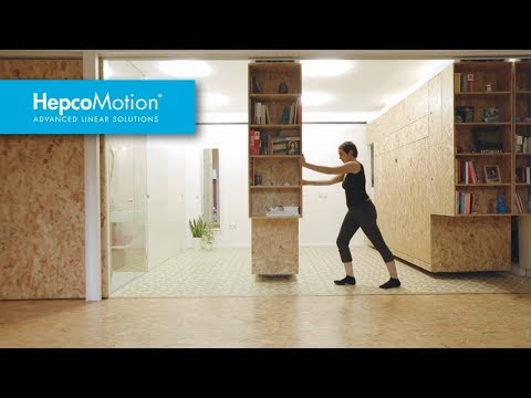 Case study hepco linear motion system in small apartments youtube - Case study small apartment ...