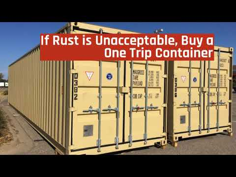 The Difference Between CWO And WWT Used Shipping Containers 720p