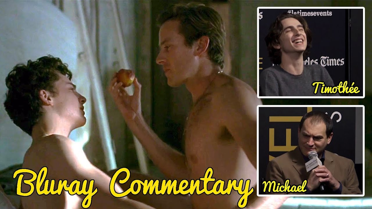 Peach Scene - Call Me By Your Name: Bluray Commentary by Timothée and  Michael