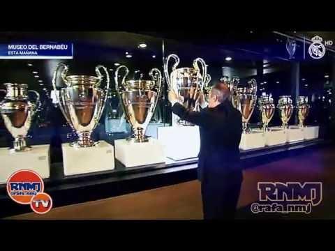 Florentino Pérez coloca La Undécima en las vitrinas del Real Madrid