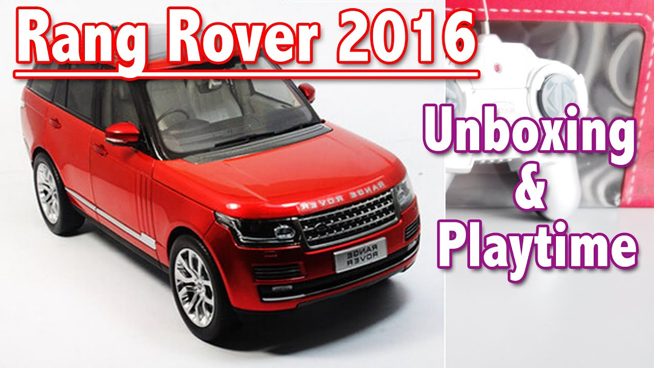 Toy Cars Range Rover 2016 Unboxing And Playtime Toys For Kids
