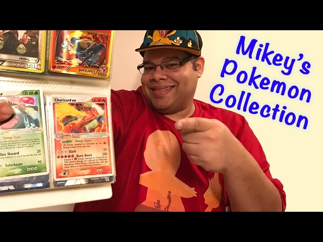 Mikeys Amazing Rare Pokemon Collection