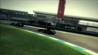 Formula 1 German GP 2012 Race Review (F1 2010 Gameplay)