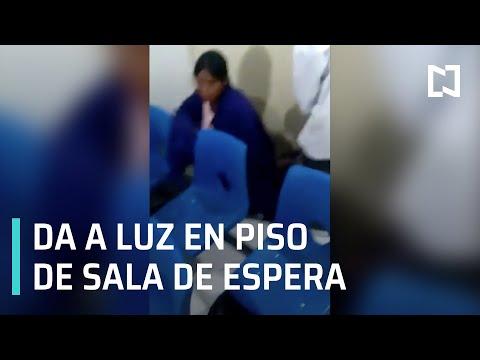 Mujer da a luz en piso de la sala de espera de hospital en Michoacán - Las Noticias Con Karla Iberia