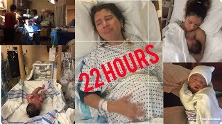 Teen mom: In Labor For 22 Hours!! | MOM VLOG