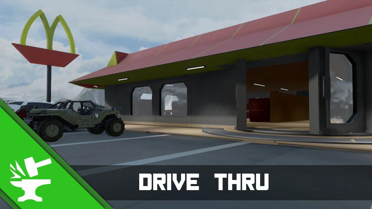 Halo 5 Forge Maps | Drive Thru
