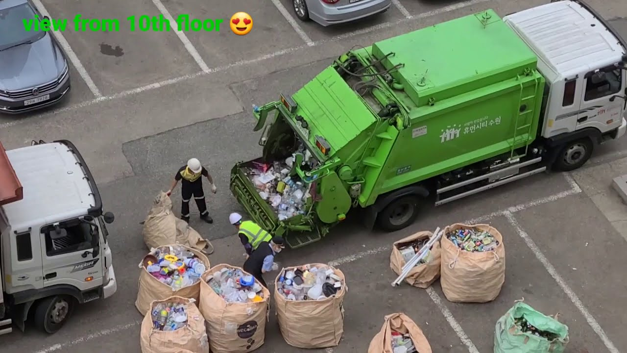 | chonachang RECYCLING COLLECTION IN SOUTH KOREA!! 🇰🇷(분리수거) one week recycling....!!!!!!