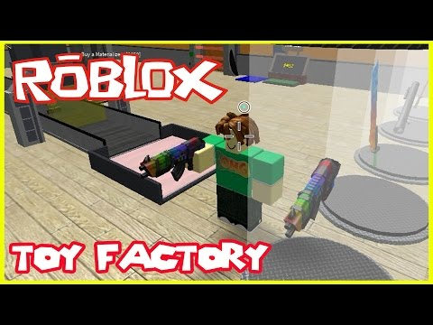 Roblox Toy Factory, Let's Play
