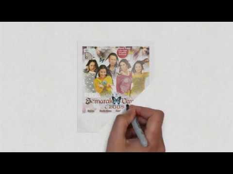 Semarak Dangdut - Iwan, Haiza, Shikin, Sheeda (Lyric Video)