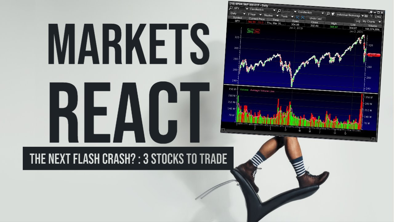 THE STOCK MARKET COULD FLASH CRASH  – My Watchlist – 3 Stocks To Buy