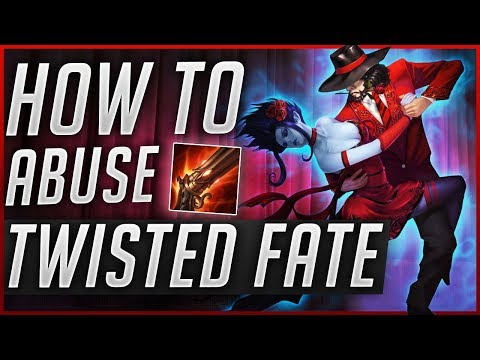 RAPIDFIRE CANNON TWISTED FATE | Try it out - with Midbeast