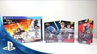 Star Wars Saga Bundle Unboxing – Disney Infinity 3.0 | PS4, PS3