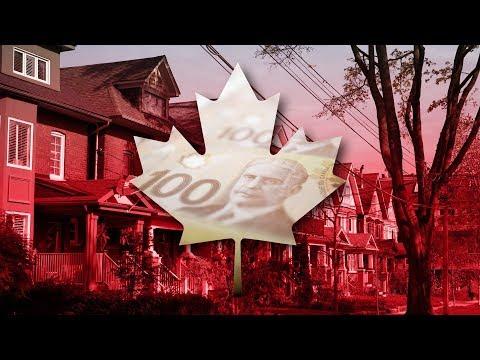 HOUSING CRASH - VANCOUVER , TORONTO , CALGARY, MONTREAL