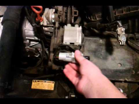 Removing The Cruise Control Actuator 01 06 Chrysler