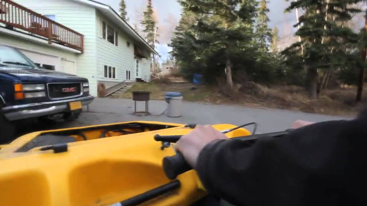 Argo Swapping Out Fuel Filter Test Ride In Anchorage Youtube 300zx For Secondary