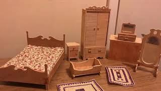 DIY doll house bedroom furniture