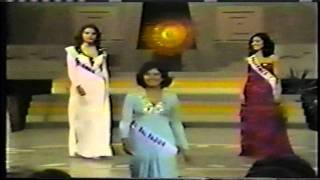 Miss Universe 1975 Top 12 Close Up