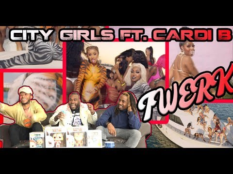 City Girls - Twerk ft Cardi B (Official Music Video) Reaction/Review