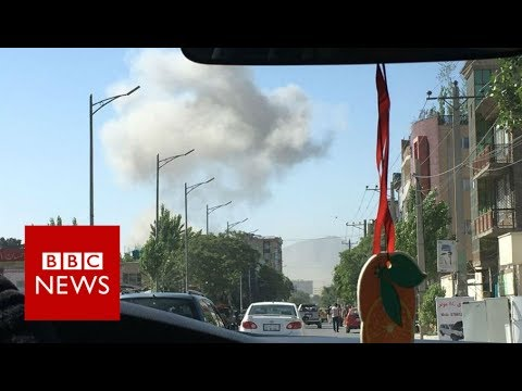 Kabul bomb: Diplomatic zone attack kills dozens - BBC News