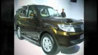 First look at TATA Safari strome in 2012 Auto Expo India