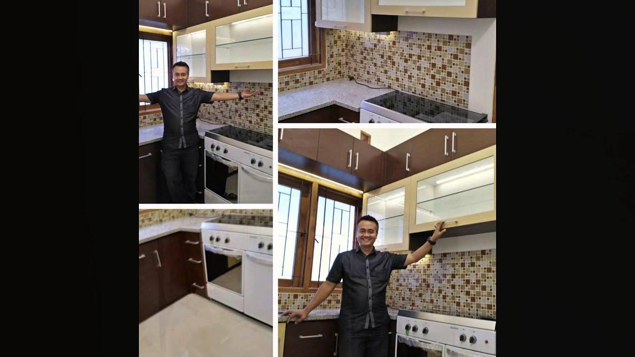 Dewape kitchen set minimalis murah malang