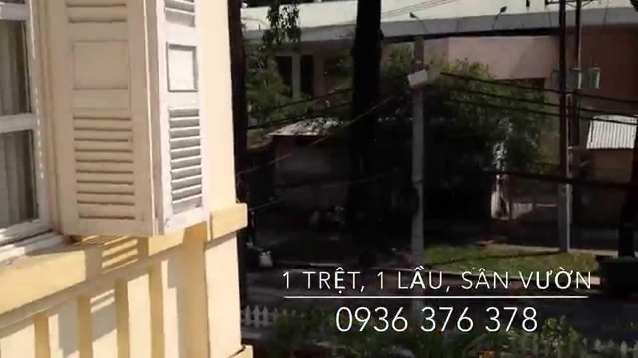 Cho thuê biệt thự Quận 3, villa cổ Pháp tiện kinh doanh [Mới 2014]