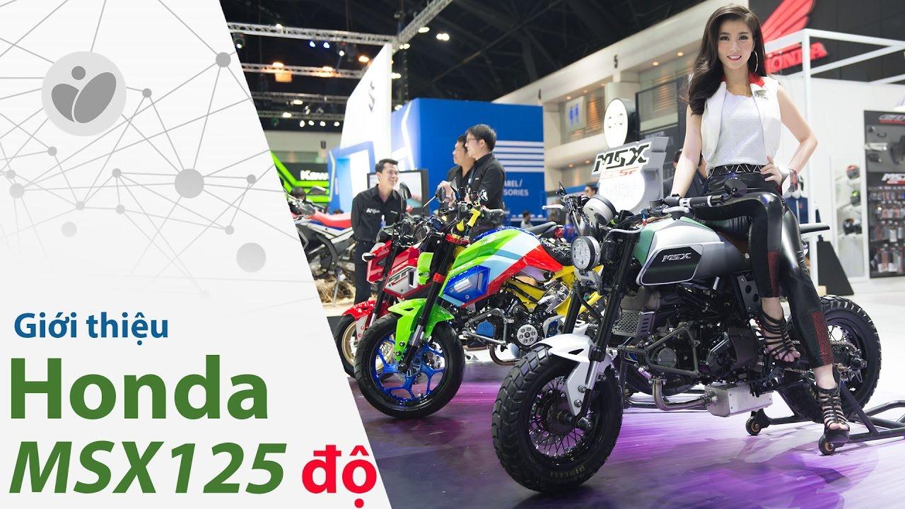 Xe.Tinhte.vn   Honda MSX 125 - Những bản độ ấn tượng tại  Bangkok International Motor Show 2017