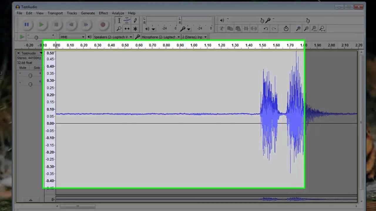 Audacity Sound Editing Software - Free Multi-Track Sound Editing Program  [Tutorial]