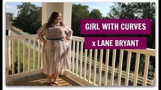 Reviewing Girl With Curves x Lane Bryant Collaboration | Plus Size Fashion