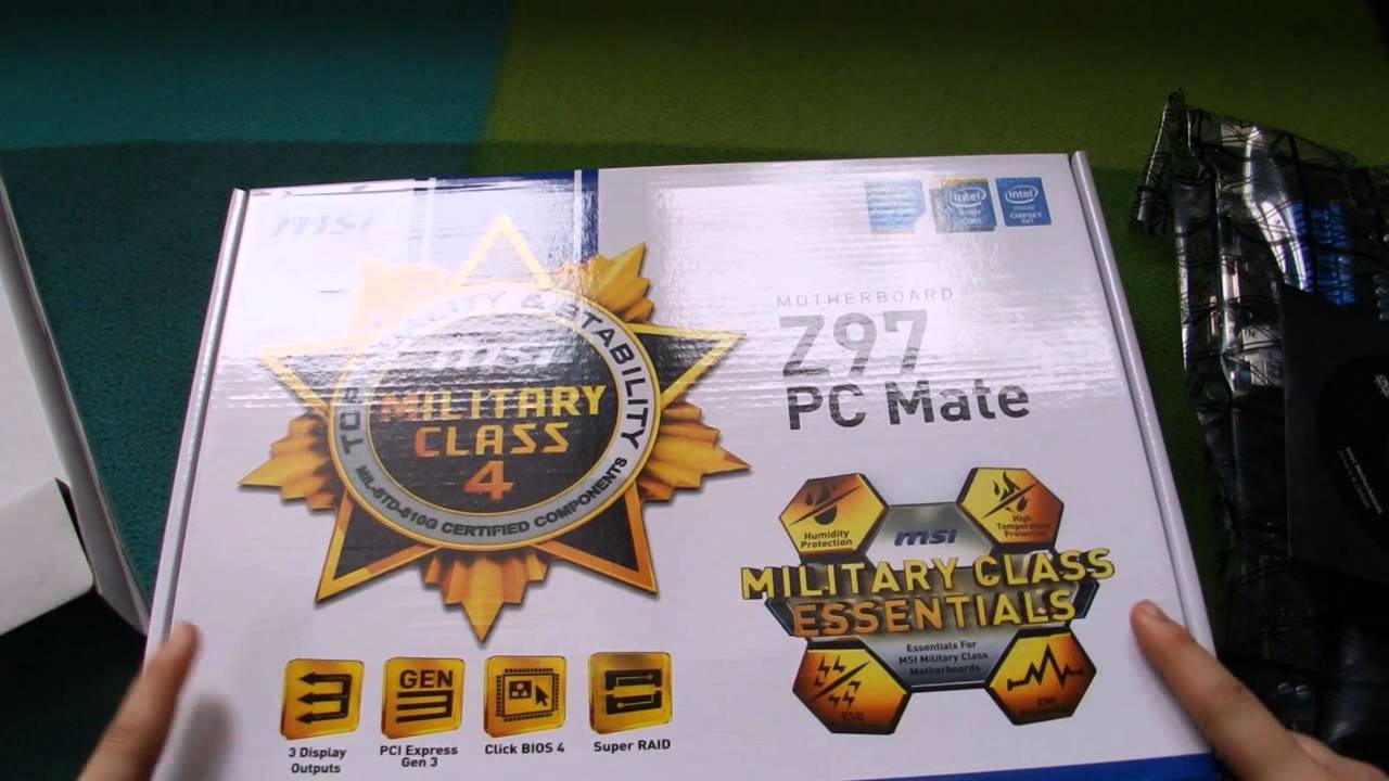 Support For Z97 PC Mate  Motherboard  The world leader