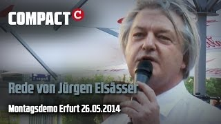 Jürgen Elsässer auf Erfurter Montagsdemo 26. Mai Thumbnail